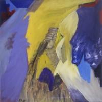 03. Κορνήλιος Γραμμένος, Χωρίς Τίτλο, λάδι σε καμβά. 120Χ120cm, 1986