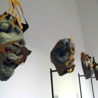 12. Κορνήλιος Γραμμένος, 6 Totem-poles, cor-ten steel, ατσαλόμαλλο, σίδηρος, 2012
