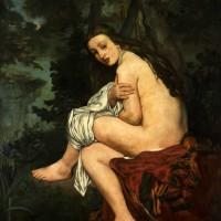 Edouard Manet, Η ξαφνιασμένη Nύμφη, 1861