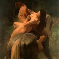 Evariste Vital Luminais,  Η αρπαγή, 1887