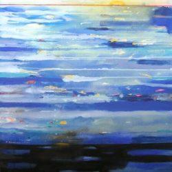 Αυτό που έρχεται από τη θάλασσα, ακρυλικά,100χ120